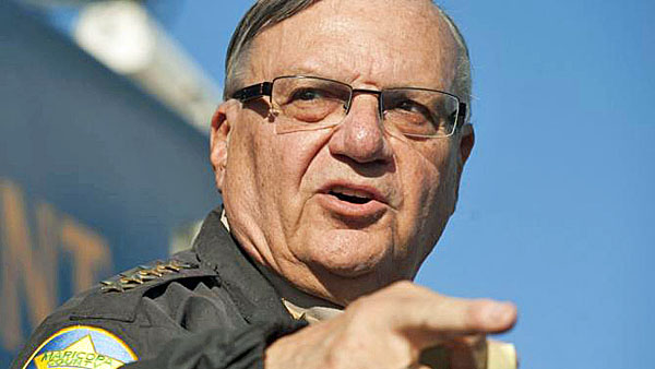File photo of Maricopa County Sheriff Joe Arpaio announcing a newly launched program aimed at providing security around schools in Anthem, Arizona